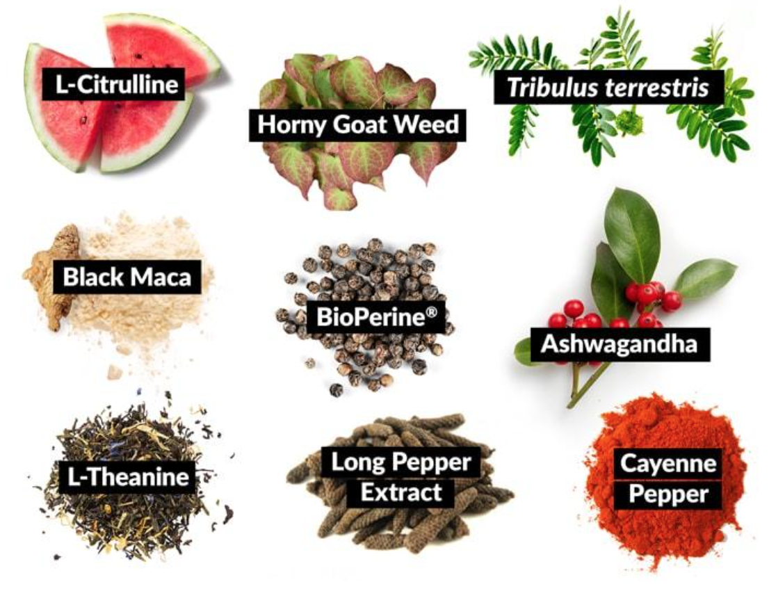 Ingredients found in Score! by Force Factor - Premium Libido Enhancer.